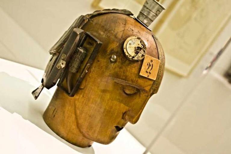 Mechanischer Kopf © filosofianetdadaismo/Flickr