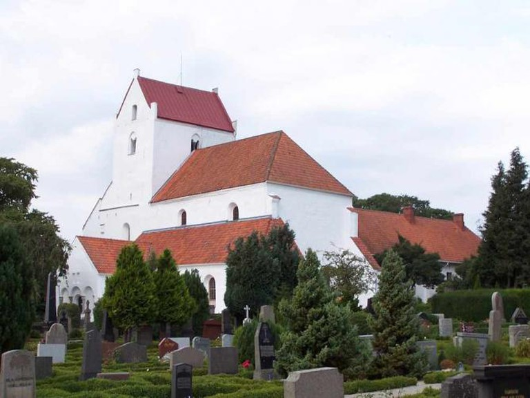 The Holy Cross Church of Dalby