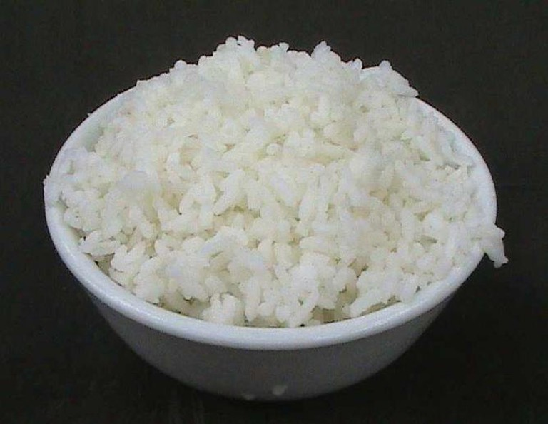 Steamed rice | © Anna Frodesiak/WikiCommons