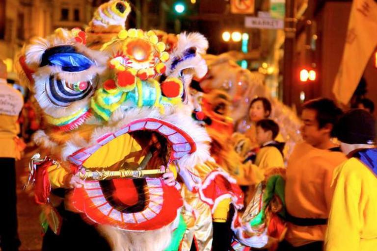 Chinese New Year Parade | Courtesy of Kiara Daswani