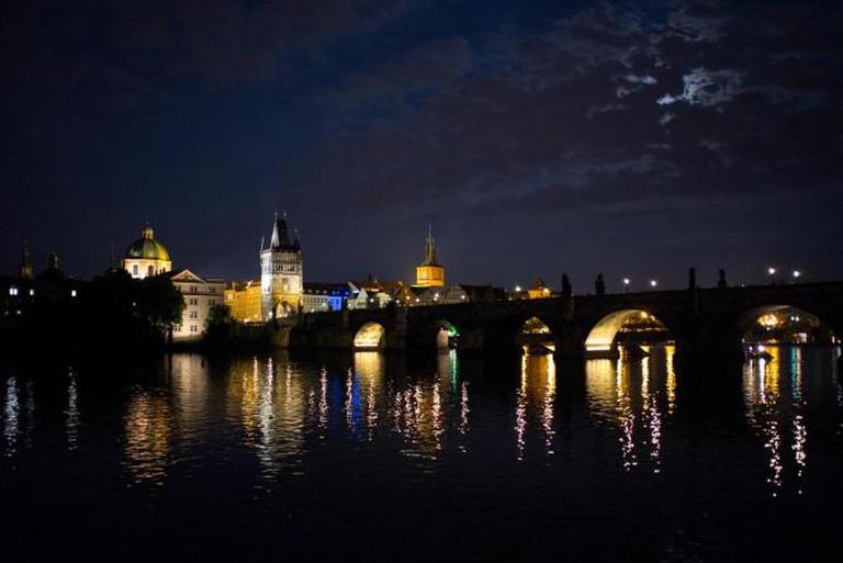Prague at night | © Roman Boed/Flickr