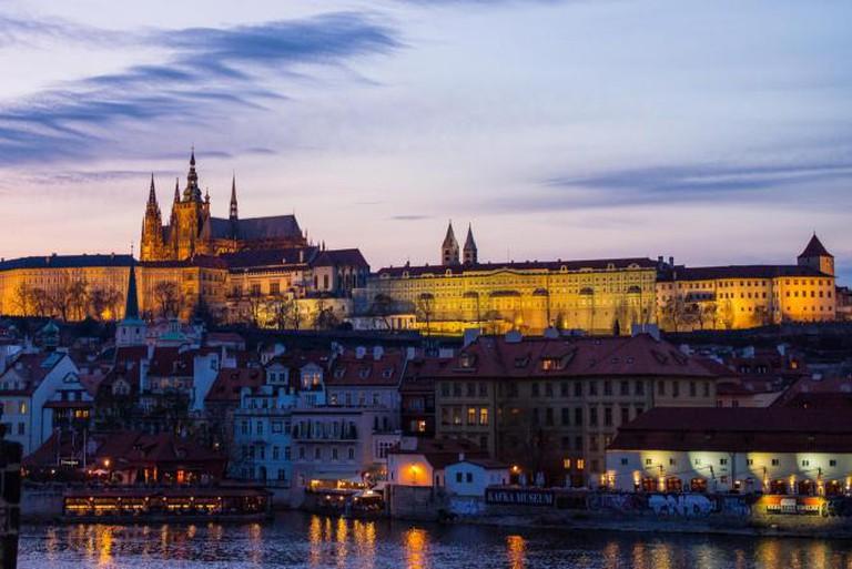 Prague at dusk | © Roman Boed/Flickr