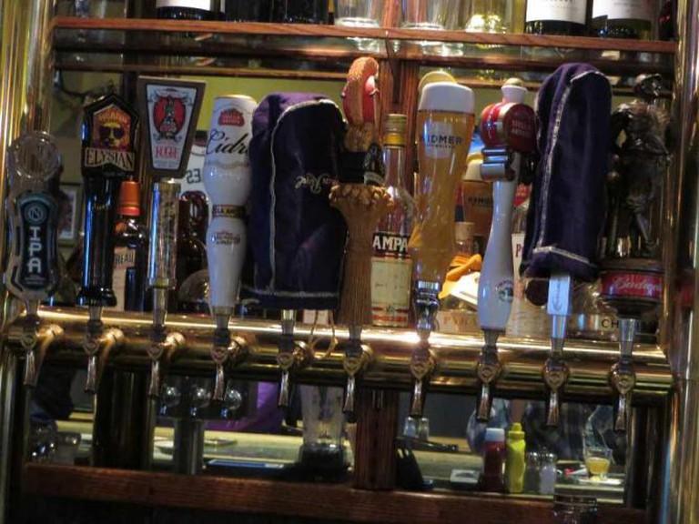 Beers on Tap at McGivney's | © Bernt Rostad/Flickr