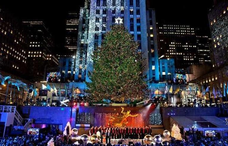 The 2012 Rockefeller Center Christmas Tree Lighting | © Anthony Quintano/Flickr