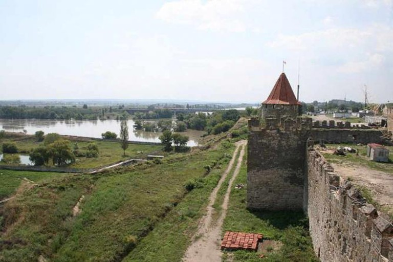 Turkish Fortress an the niestr in Bendery (Transnistria) | © Richardfabi/Wikicommons