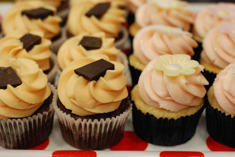 The London favourite Ms. Cupcake is one of the many exhibitors | Courtesy of Vegfest