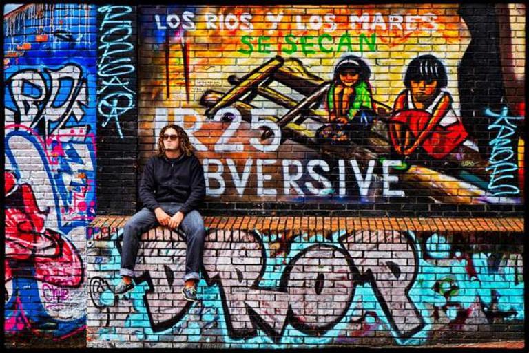 Bogotá Graffiti  ©Pedro Szekely/Wikimedia