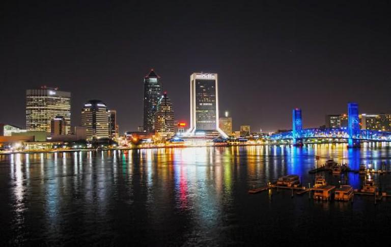 Jacksonville by night
