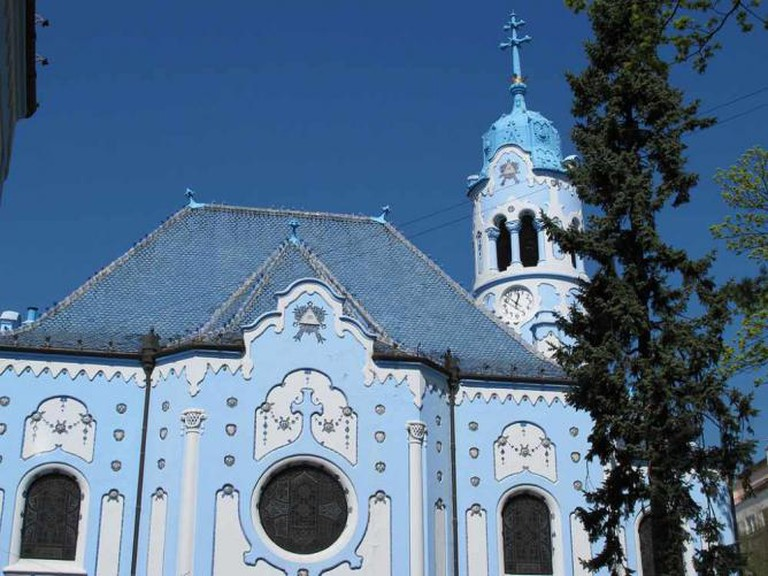 Bratislava's famous blue church   © JUAN RAMON RODRIGUEZ SOSA/Flickr