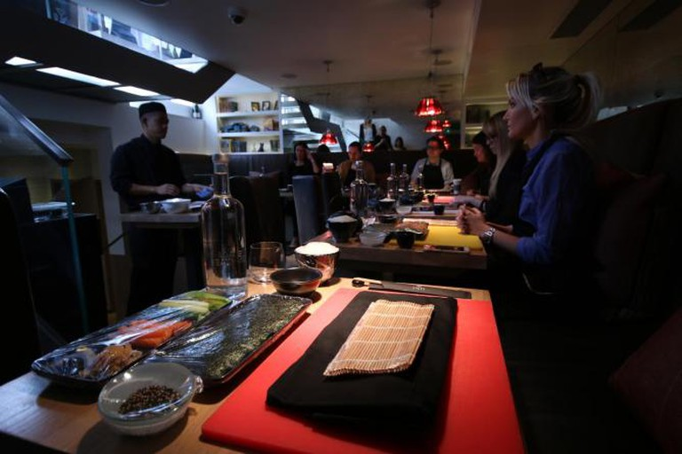 Sushi masterclass with Chef Christian Stamaria at UNI Restaurant | Courtesy of Ellie Griffiths