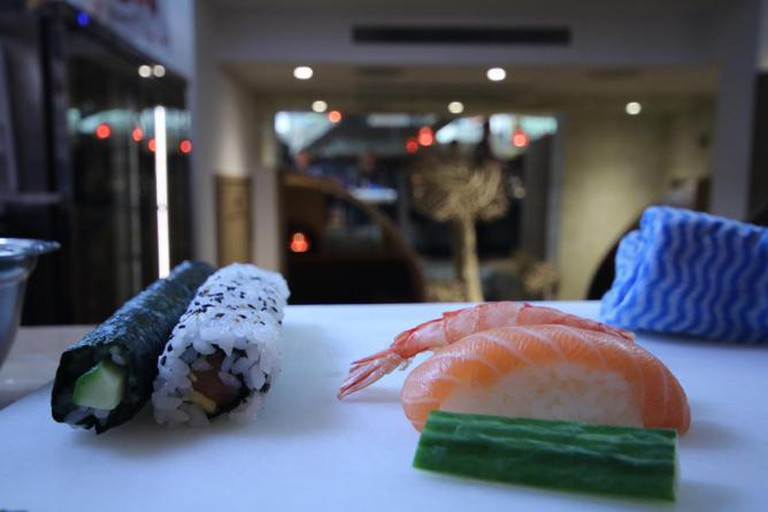 Nigiri on the right | Courtesy of Ellie Griffiths