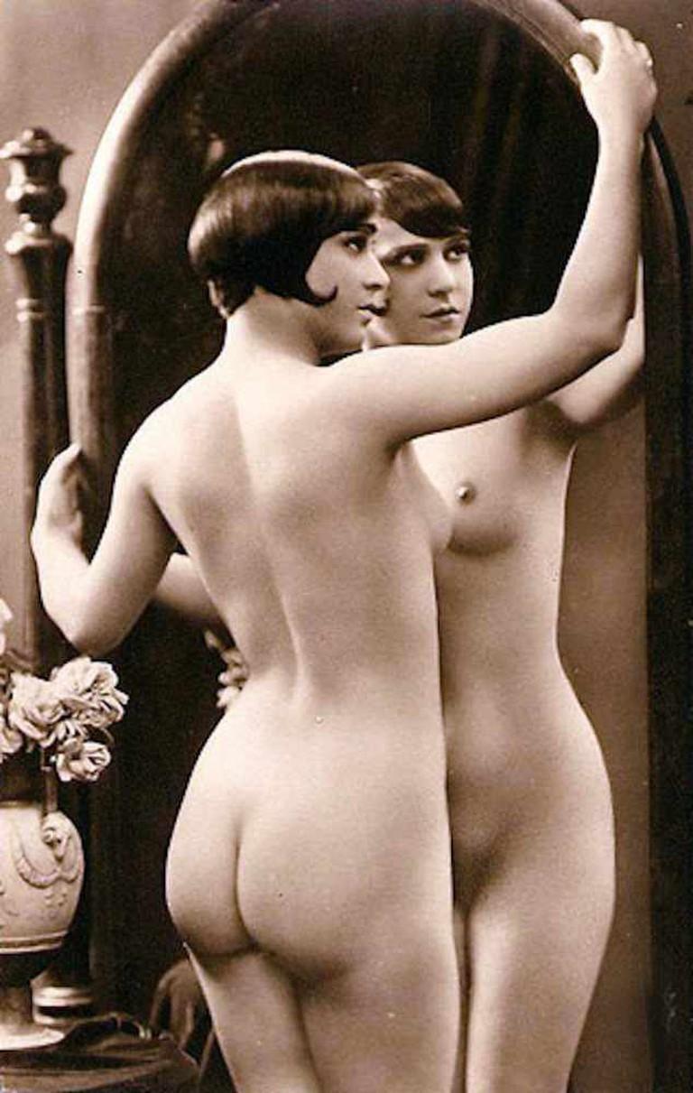 Julien Mandel, Nu au miroir | © WikiCommons