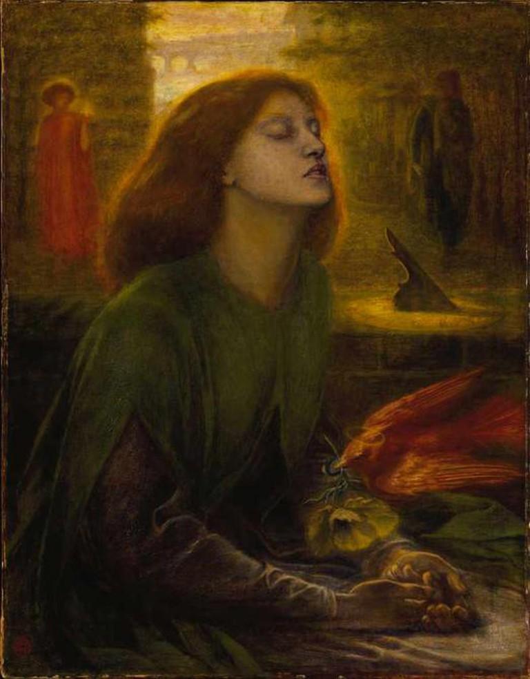 Dante Gabriel Rossetti, Beata Beatrix, 1864-1870, Tate Britain | © WikiCommons