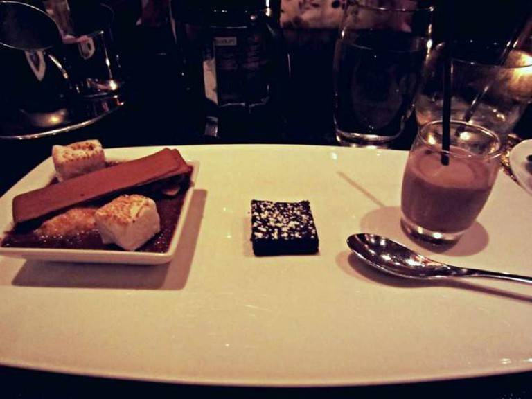 The S'mores dessert plate at Coco Sala.