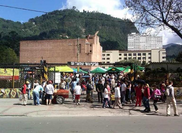 Mercado de Las Pulgas de San Alejo| ©Peter Angritt/Wikimedia