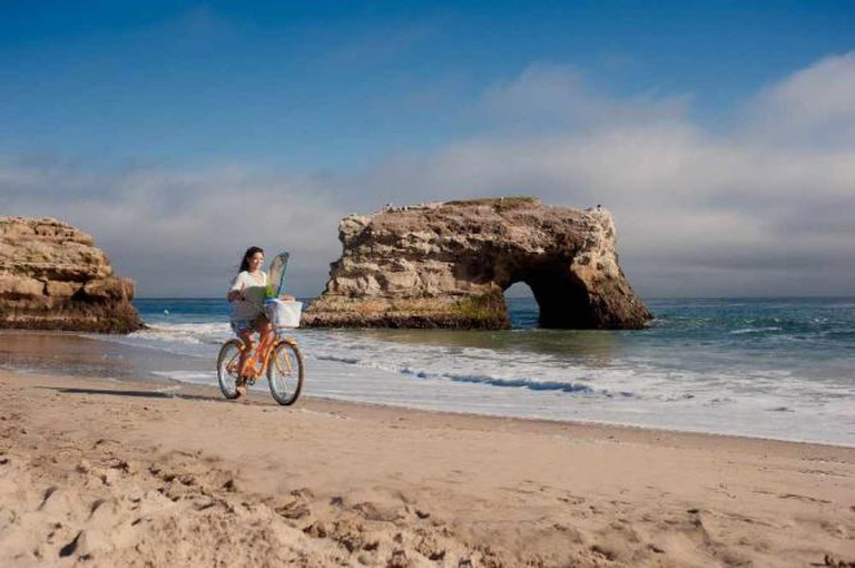 Natural Bridges State Park at the end of West Cliff Drive | Courtesy Santa Cruz County CVC/Paul Schraub