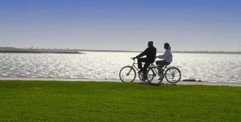 Bayshore Bikeway at Chula Vista | Courtesy San Diego Tourism Authority