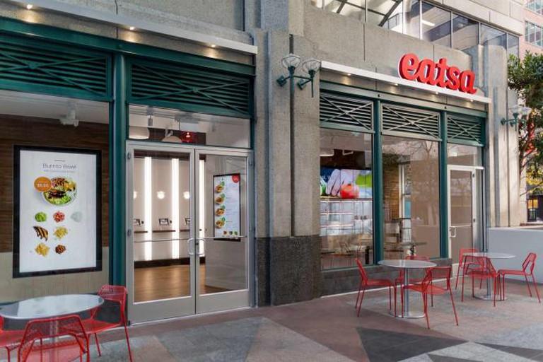 Outside Eatsa's Spear St. San Francisco location│ Courtesy of Eatsa