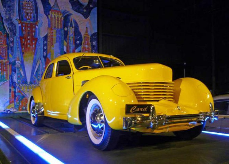 Car at World of WearableArt & Classic Cars Museum