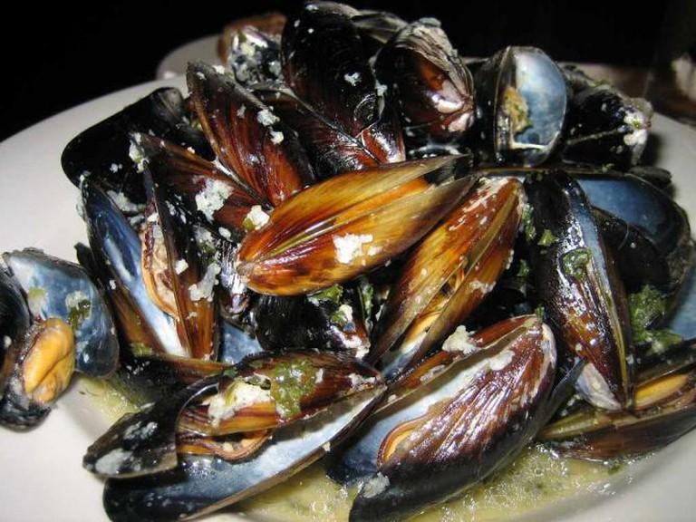 Mussels at Maximilien