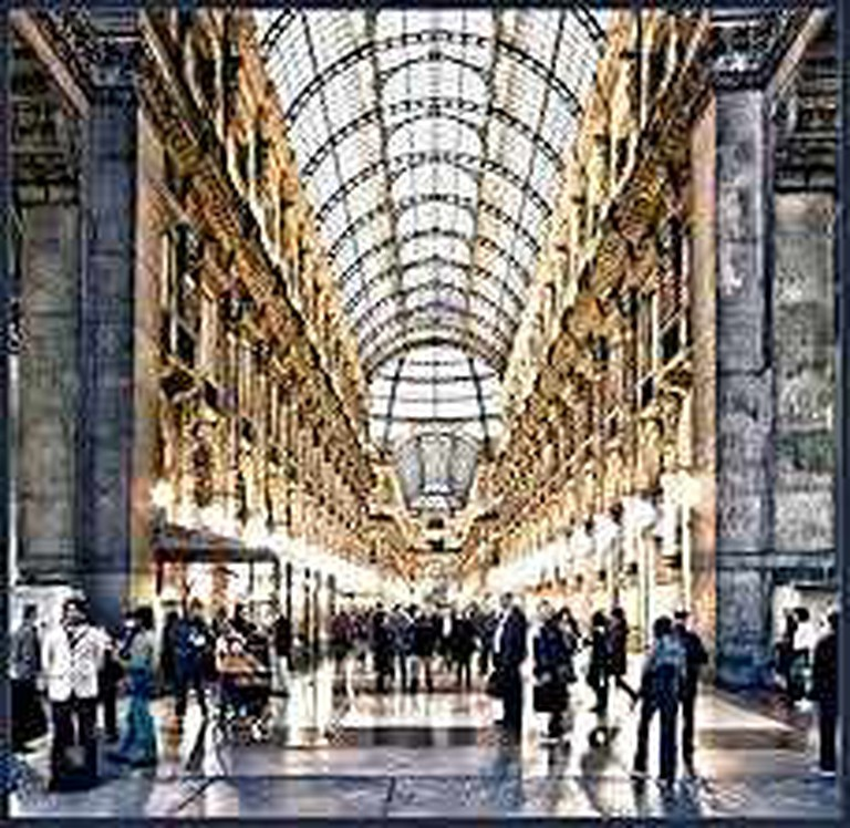 The Galleria Vittorio Emmanuele II