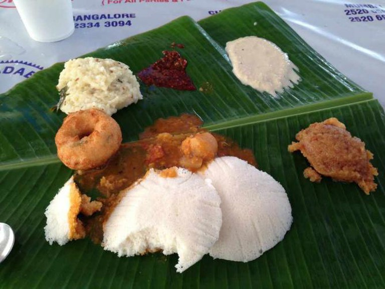 South Indian Breakfast on Banana Leaf | © Nano Anderson/Flickr