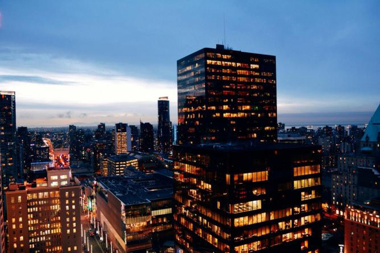 Vancouver city center from above | © Alex Costin/Flickr