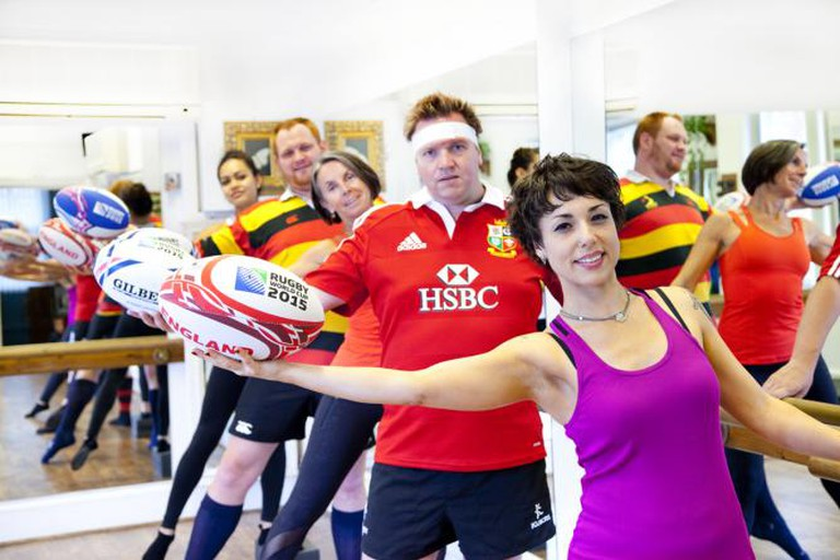#trythebarre this Rugby season | Courtesy of Barreworks