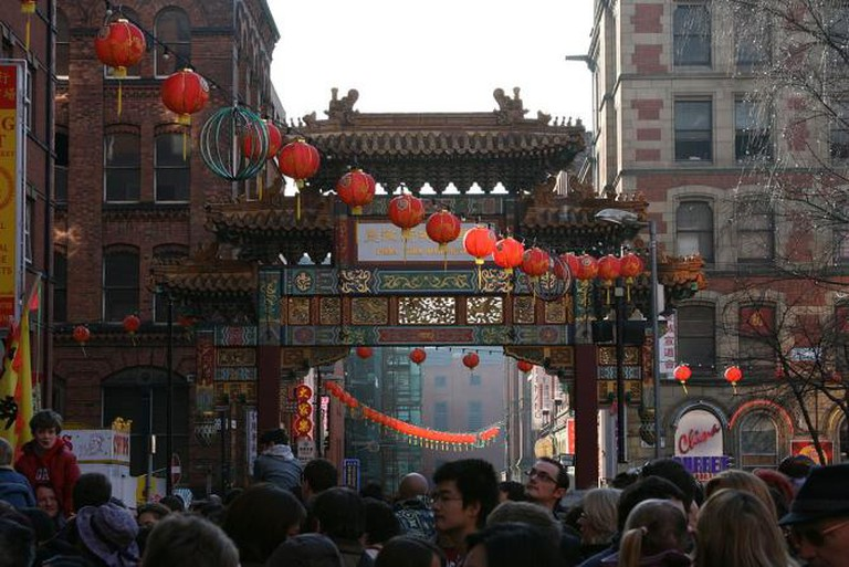 Chinese New Year in China Town, Manchester