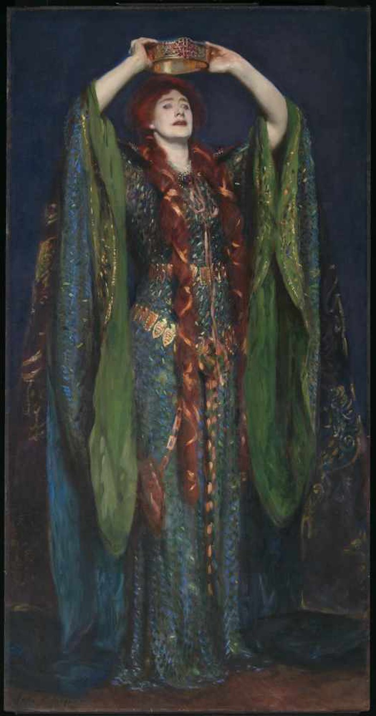 John Singer Sargent, Ellen Terry as Lady Macbeth, 1889 | WikiCommons