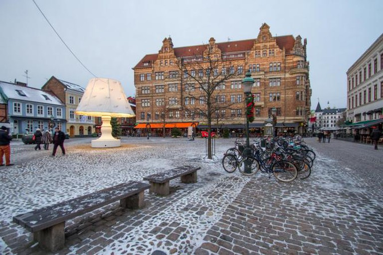 Lilla Torg in winter