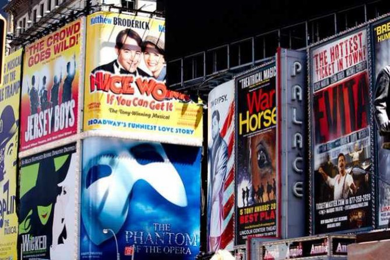 Broadway Ads in Times Square | © Broadway Tour/Flickr
