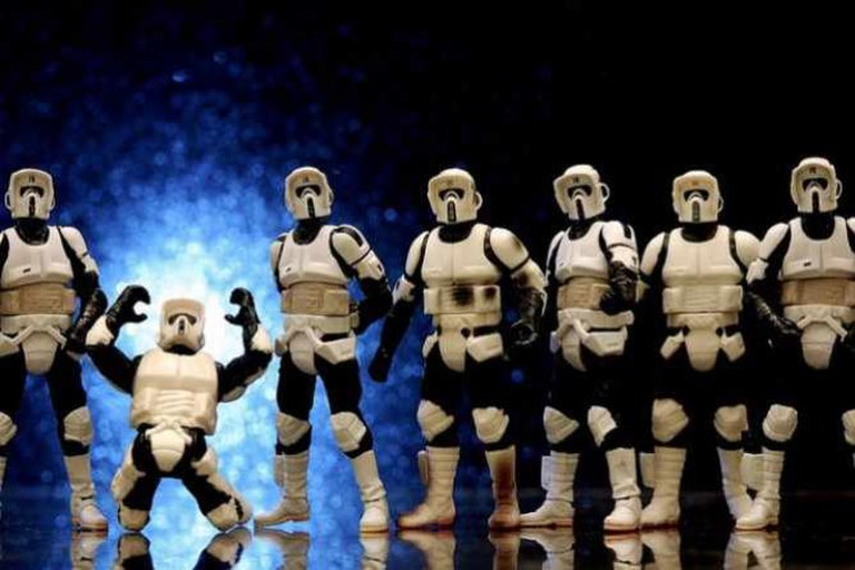 Where's William Shatner? Star Wars VI | © JD Hancock/Flickr