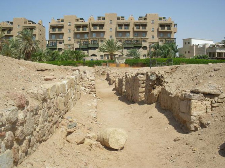 Ruins of Ayla in Aqaba, Jordan