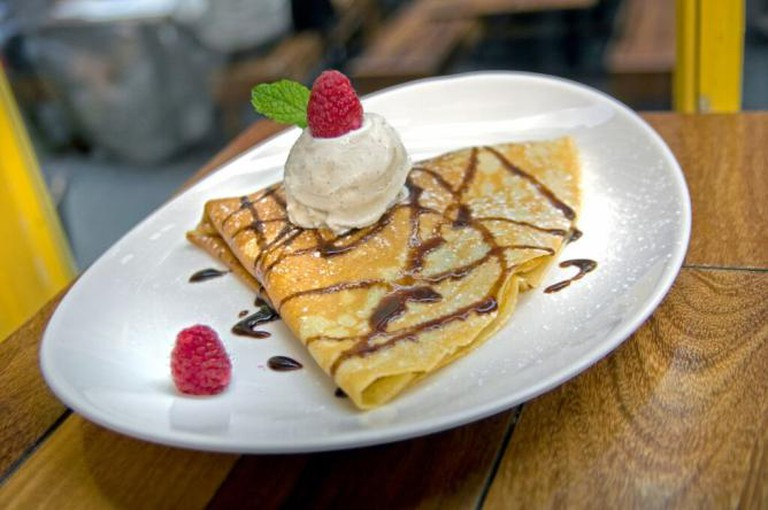Berry Chocolate | Image courtesy of Crêpes du Nord