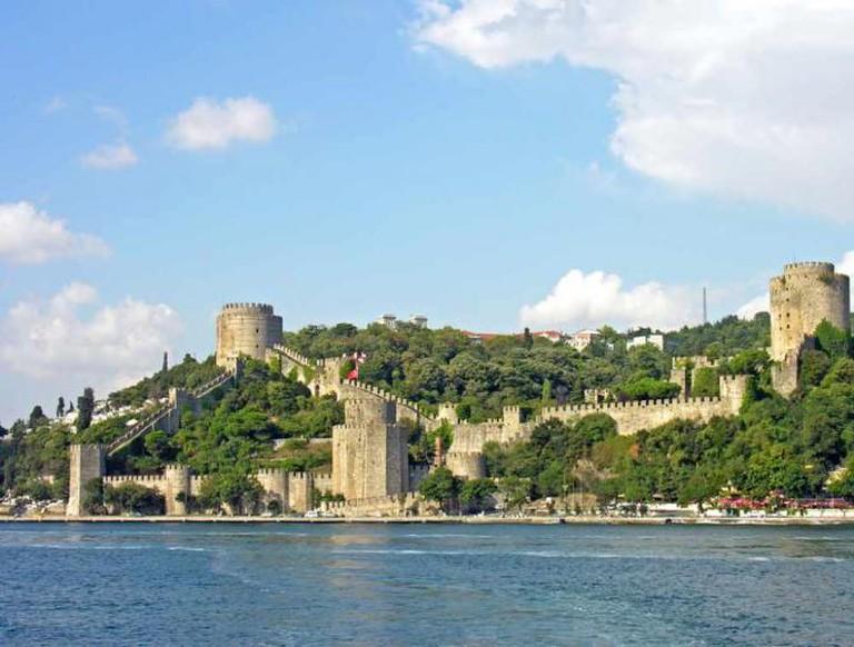 Rumelihisarı from the Bosphorus