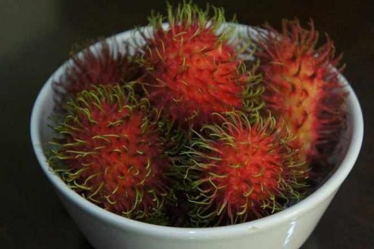 A Bowl of Rambutan | © Scott/Flickr