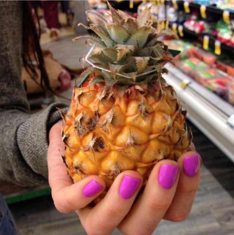 Baby pineapple © HungryGems