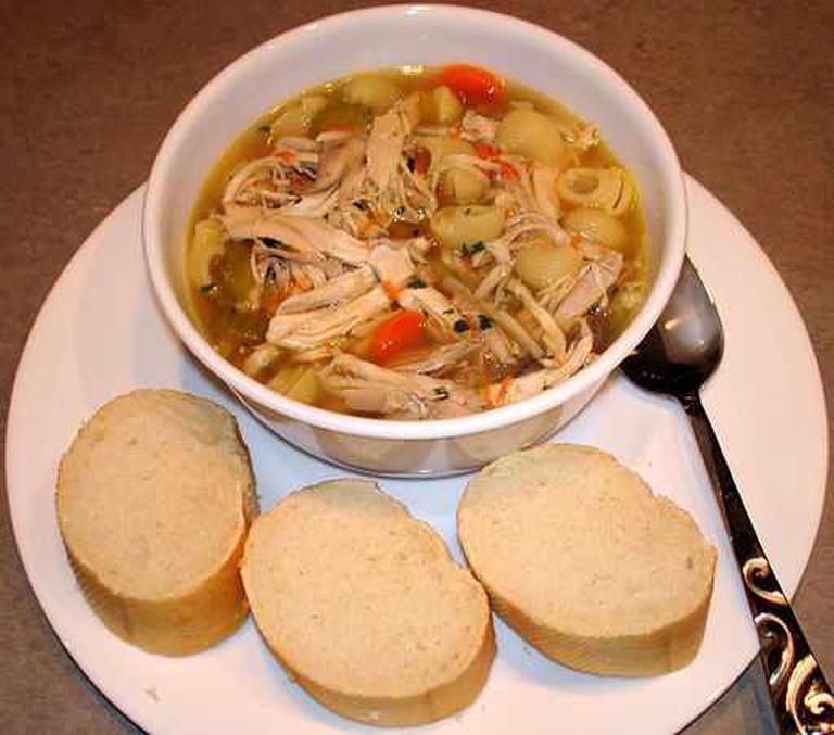 Chicken noodle soup | © Eli Hodapp/WikiCommons