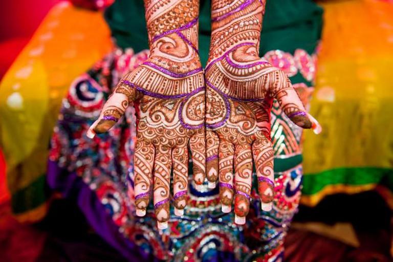 Traditional mehndi   © Josh Rodriguez/Flickr