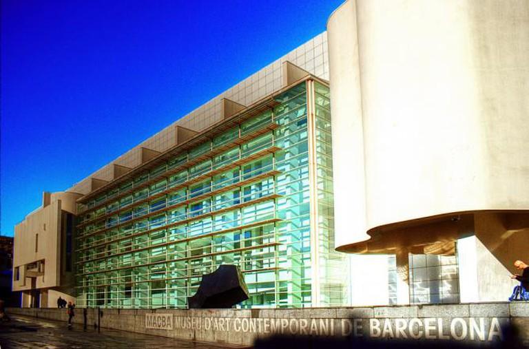 MACBA, Barcelona   © Matt Clark/Flickr