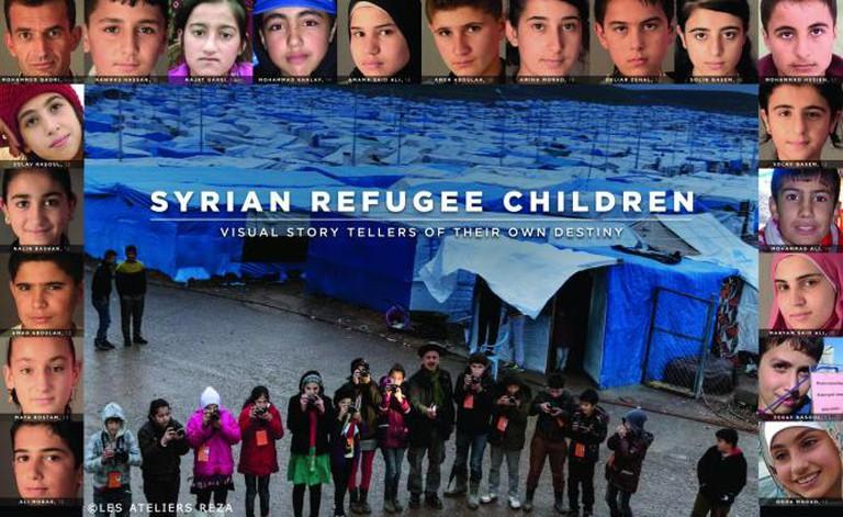 Syrian Children With Reza I © Les Ateliers Reza/Courtesy of Webistan Photo Agency