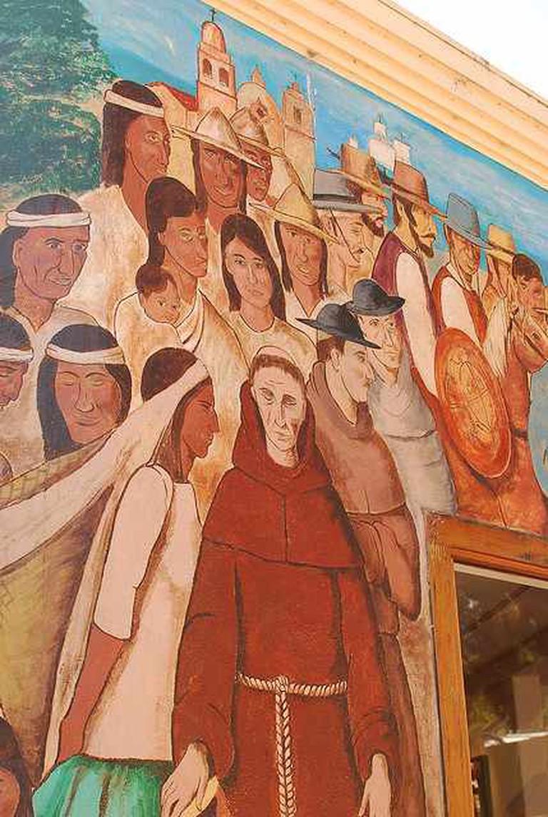 Wall art at La Bahia