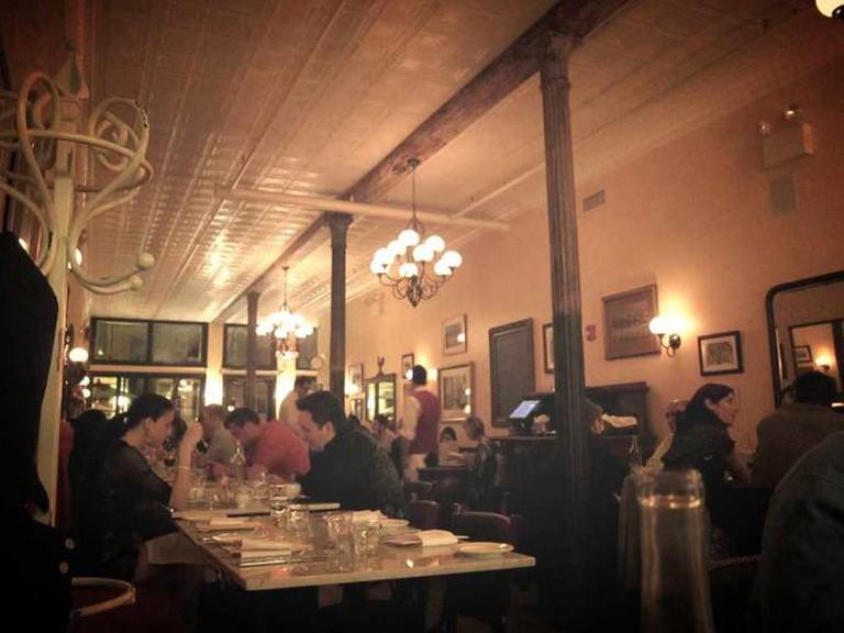 Cozy, intimate bistro spaces define the upscale and unpretentious nature of Philadelphia's fine French restaurants.