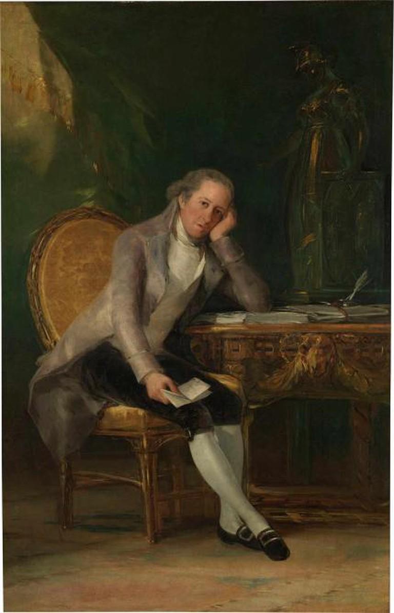 Gaspar Melchor de Jovellanos, 1798, oil on canvas, 205 x 133 cm, Museo Nacional del Prado, Madrid © Madrid, Museo Nacional del Prado