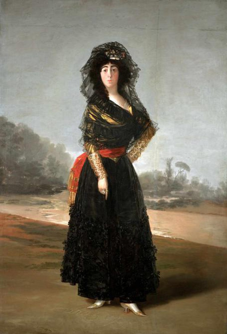 The Duchess of Alba, 1797, oil on canvas, 210.2 x 149.2 cm, On loan from The Hispanic Society of America, New York, NY © The Hispanic Society of America, New York