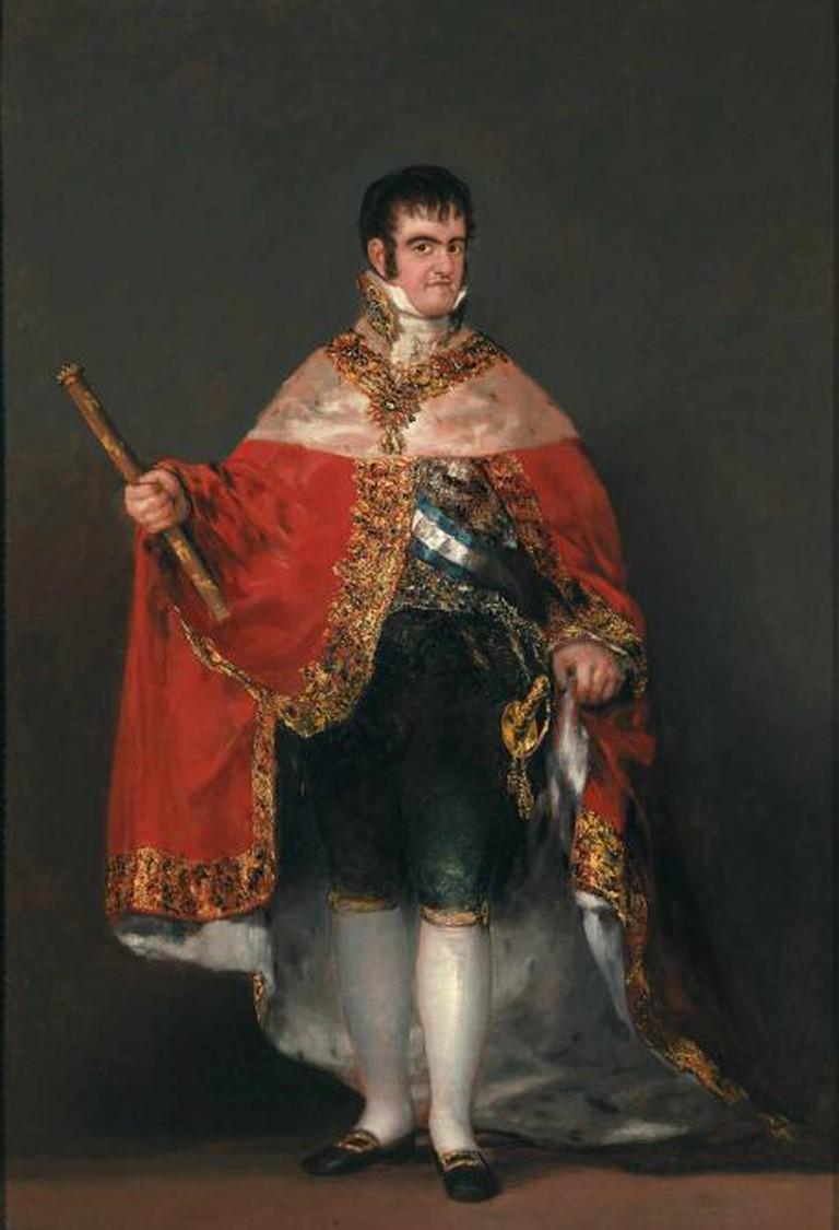 Ferdinand VII in Court Dress, 1814 – 1815, oil on canvas, 208 x 142.5 x 2 cm, Museo Nacional del Prado, Madrid © Madrid, Museo Nacional del Prado