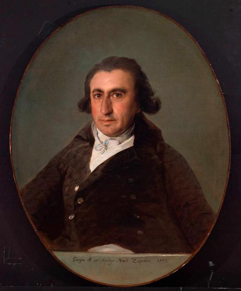 Martin Zapater, 1797, oil on canvas, 83 x 65 cm, Bilbao Fine Arts Museum © Bilboko Arte Ederren Museoa-Museo de Bellas Artes de Bilbao