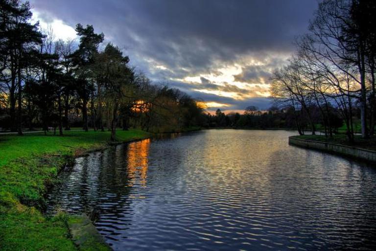Nottingham Lake at Sunset   © Leon Fishman/Flickr