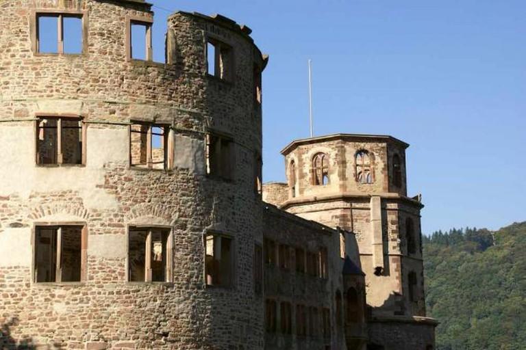 Part of Heidelberg Schloss